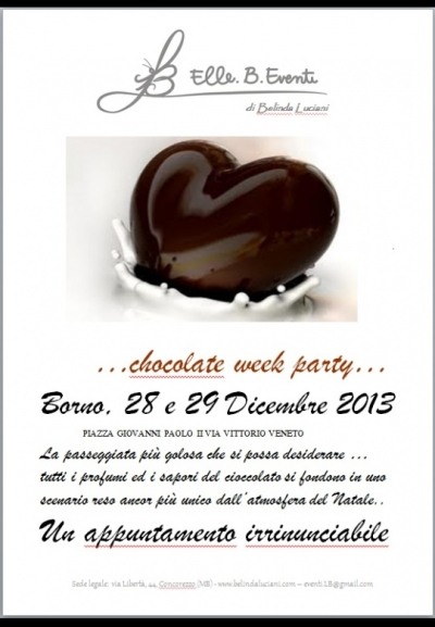 Chocolate Week Party Borno 2013